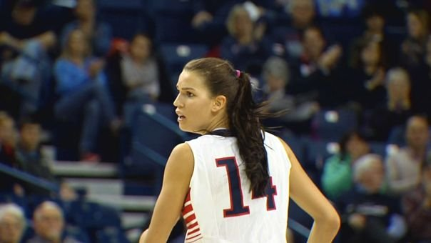 Junior forward Sunny Greinacher and the Zags will be looking over their shoulder's after beating No. 24 San Diego and moving up the WCC standings.