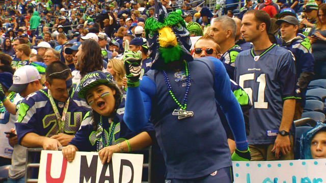 Seattle is catching Seahawk fever with the NFC Championship game this weekend.