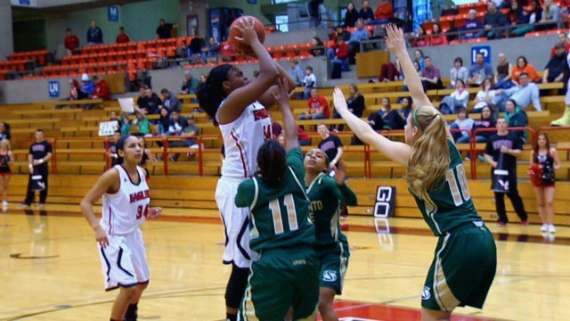 Laura Hughes is averaging 14.9 points and 5.6 rebounds per game this season for EWU.
