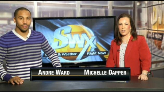 Former Olympic Gold Medalist Andre Ward joined Michelle Dapper in studio to talk about the 2014 USA Boxing National Championships.