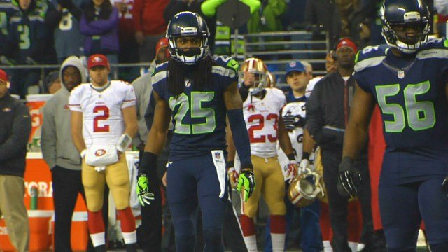 Seattle's Richard Sherman has taken the media by storm with his comments about the 49ers Michael Crabtree. Now we see why he was so heated.