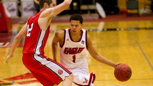 Tyler Harvey scored a career-high 36 points to lead the Eags past Southern Utah on Thursday night.