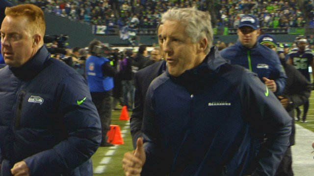 Quotes from Tuesday's Super Bowl XLVIII Media Day interview with Seahawks head coach Pete Carroll