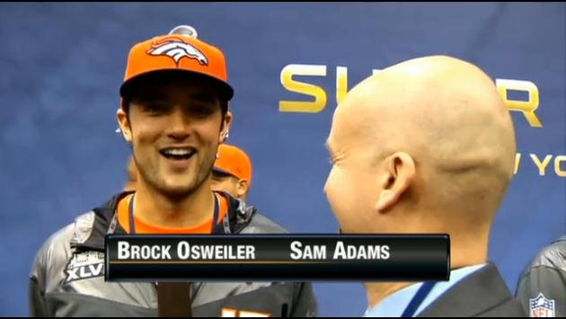 Sam Adams interviews former Gonzaga Basketball commit and current Denver Broncos backup QB Brock Osweiler about the Super Bow!