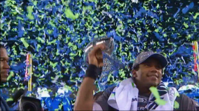 The Seattle Seahawks won Super Bowl XLVIII 43-8 at MetLife Stadium on Sunday.