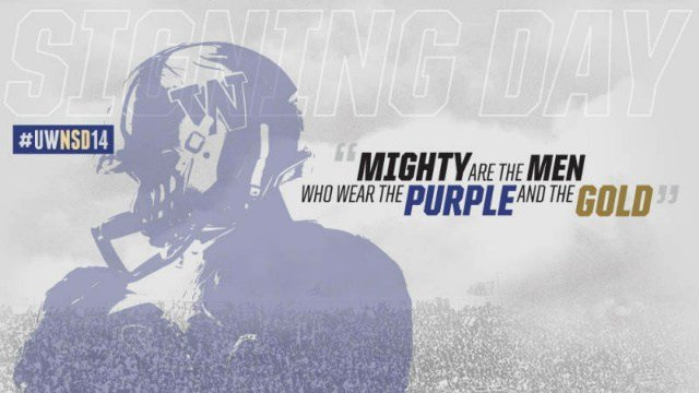 New University of Washington head coach Chris Petersen announced his 2014 signing class today.