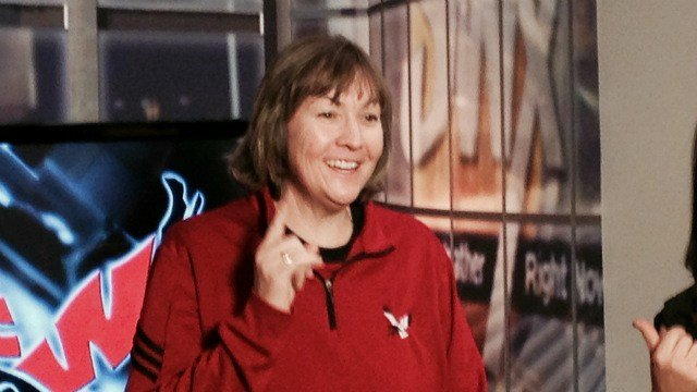 EWU head coach Wendy Schuller wants you to come to Cheney on Saturday for the Eagles Cancer Awareness game!