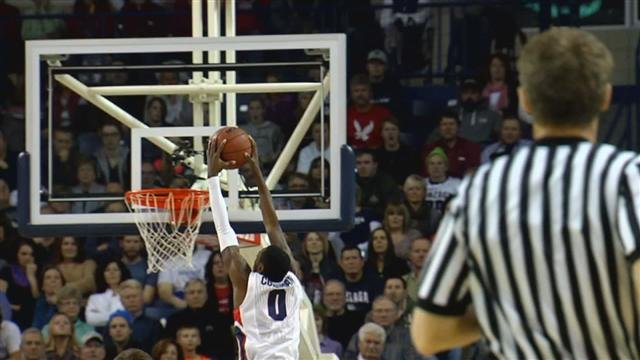 Gerard Coleman scored 12 points off of the bench for the Zags but it wasn't enough to secure the win at Memphis.