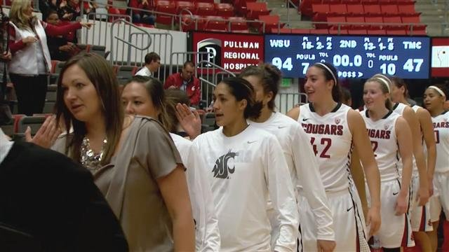 The Washington State University women's basketball team will head to Utah this week.