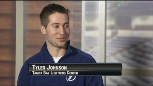 Former Spokane Chief and current Tampa Bay Lightning center Tyler Johnson joined SWX on Tuesday.