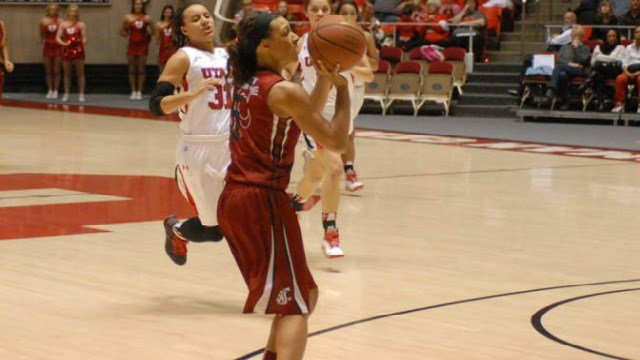 Tia Presley scored a game-high 32 points to lead WSU past the Utes on Friday night.