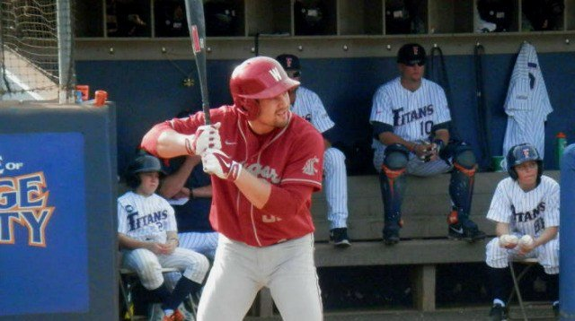 Washington State rallied late to defeat No. 1 Cal State Fullerton on Saturday.