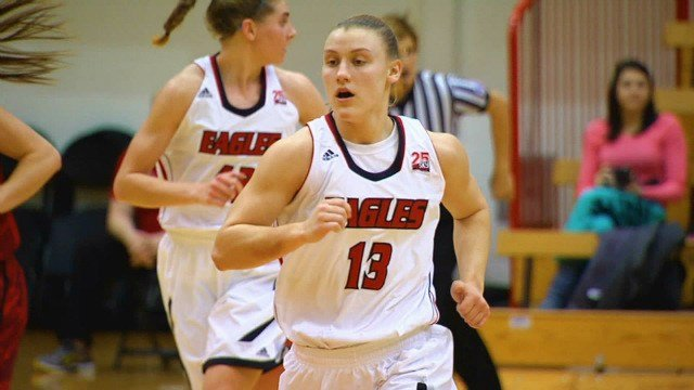 Lexie Nelson led EWU with 17 points in the win over Southern Utah on Thursday night.