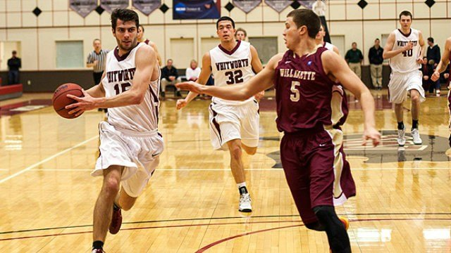 Christian Jurlina scores a game-high 23 points to help Whitworth advance to the NWC Championship game.