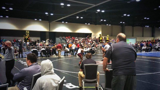 The NJCAA Wrestling National Championships are being held at the Spokane Convention center this weekend.