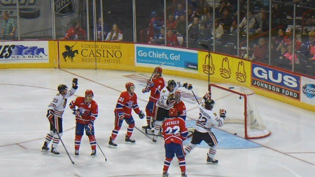 The Winterhawks extended their franchise win streak to 21 games at the Spokane Chiefs' expense on Friday night.