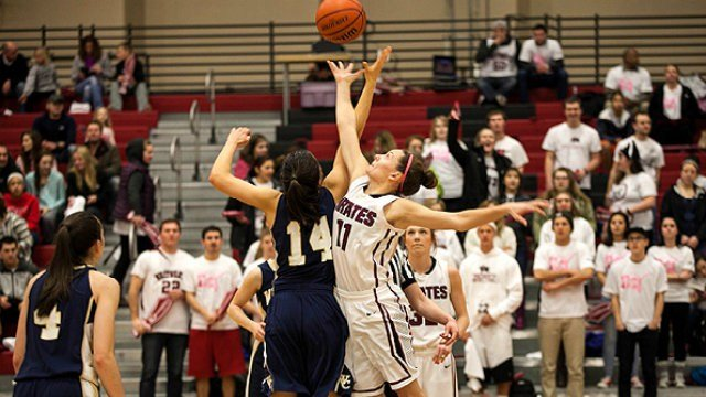 Whitworth just out-reached No. 1 Whitman to secure the Northwest Conference title on Saturday night.