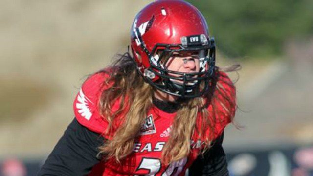 EWU standout linebacker Ronnie Hamlin has been granted a sixth year of eligibility by the NCAA. (Image Courtesy: EWU Athletics)