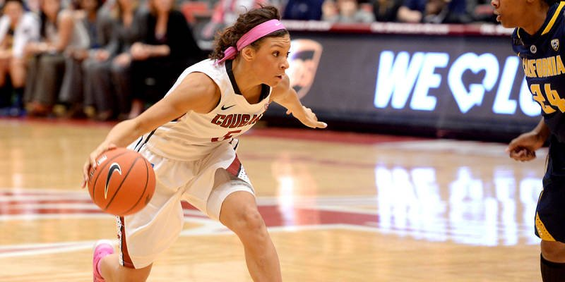 Tia Presley and the WSU women's basketball team defeated Oregon for a chance to face Cal on Friday.
