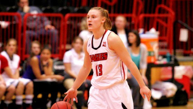Lexie Nelson scored a team-high 20 points to help lead EWU past Weber State on Saturday.