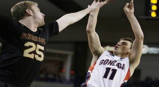 The Gonzaga men advanced to the WCC Semifinals thanks to David Stockton's buzzer beating layup to defeat Santa Clara at the Orleans Arena on Saturday night.