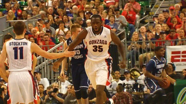 Sam Dower Jr. led the Zags into the NCAA Tournament again with 20 points and 13 rebounds in the WCC Tournament Championship game vs. BYU on Tuesday.