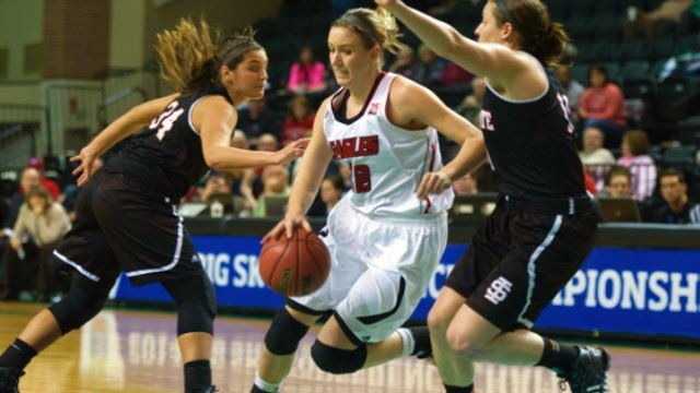 Aubrey Ashenfelter led the Eagles with 17 points in her final game at EWU.