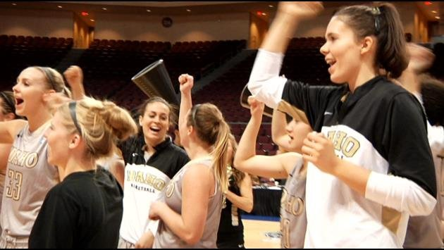 The Idaho Vandals women's basketball team defeated Seattle for a second straight year in the WAC Tournament Title game.