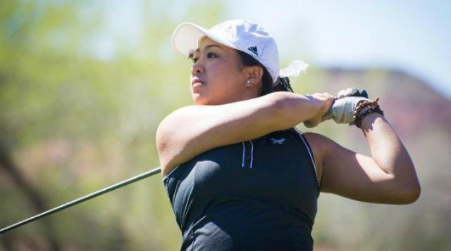 Eagles golfer Marissa Borja was honored by the Big Sky Conference on Wednesday.