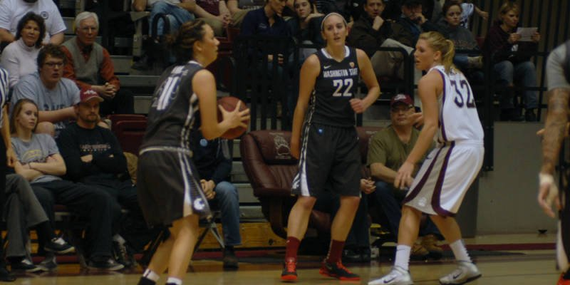 The Washington State women fell to Montana in the opening round of the WNIT on Wednesday.