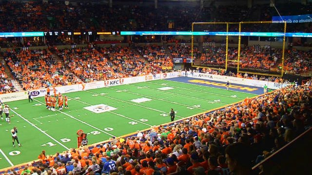 The Shock return to the Spokane Veterans Memorial Arena to face the newly formed Portland Thunder.