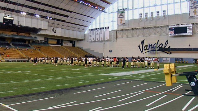 The Vandals completed their second spring scrimmage on Friday.