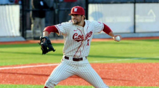 Joe Pistorese pitched 8 2/3 innings of two-run ball to lift the Cougs past No. 24 USC on Friday.