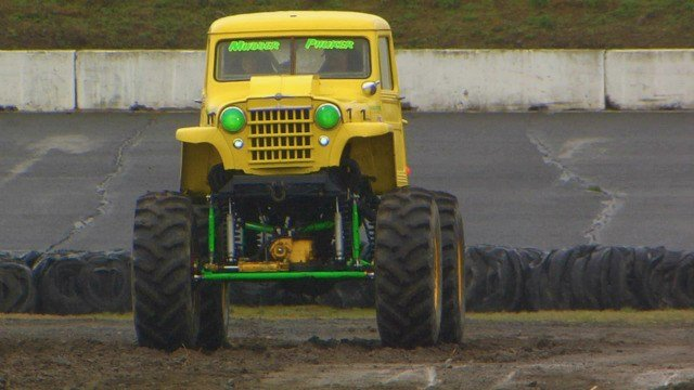 Mud Bogging will hit center of the Oval Track at the Spokane County Raceway this Saturday, April 19.
