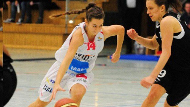 Emma Stach has been a professional in Germany since she was 13, now she's a Zag. (Photo: Gonzaga Athletics)