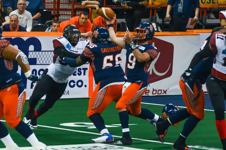 Erik Meyer and the Spokane Shock will face off with the LA KISS for the first time this weekend. (Photo: Reed Schmitt)