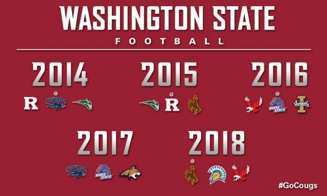 The Cougars will face a host of local opponents over the course of the next five seasons. (Photo: WSU Athletics)