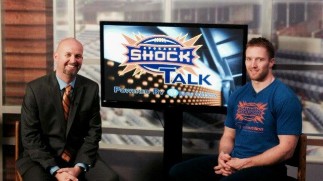 Spokane Shock head coach Andy Olson joined SWX before his team hits the road to face to LA KISS
