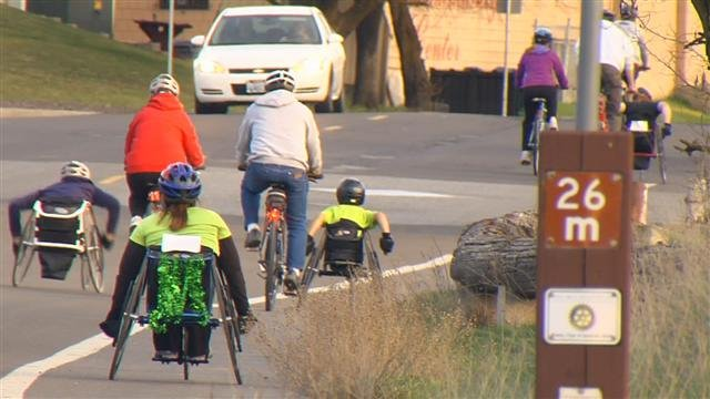 ParaSport Spokane has been training hard for Bloomsday 2014, SWX's John Collett got their full story.