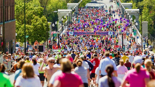The Bloomsday course will be packed this weekend, so will the downtown streets around it. (Photo: Bloomsday Run)
