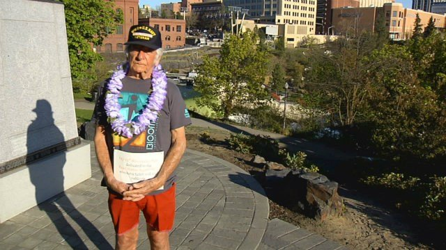 Ralph Virene is a World War II veteran who runs Bloomsday in honor of those who have fallen or are still suffering from Pearl Harbor.