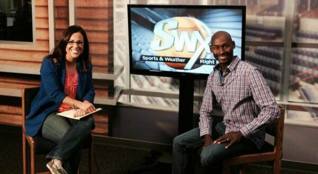Olympian Bernard Lagat joined SWX's Michelle Dapper in studio on Friday, May 2.