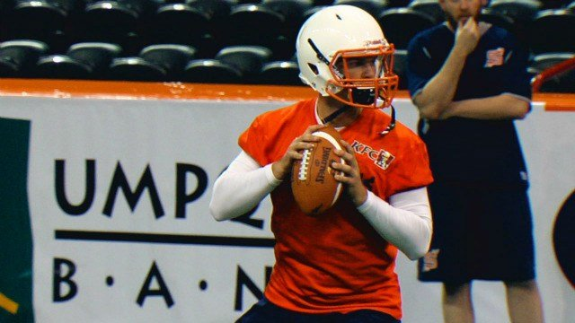 Former Eastern Washington QB Kyle Padron tried out but missed the cut for Spokane as the Shock look to replace Erik Meyer in a hurry.