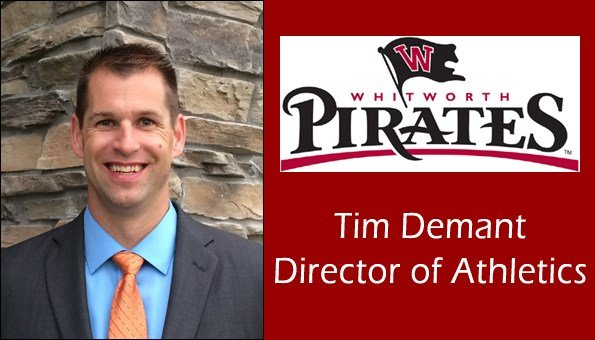 Tim Demant has been seleceted as the new Athletic Director of Whitworth University.
