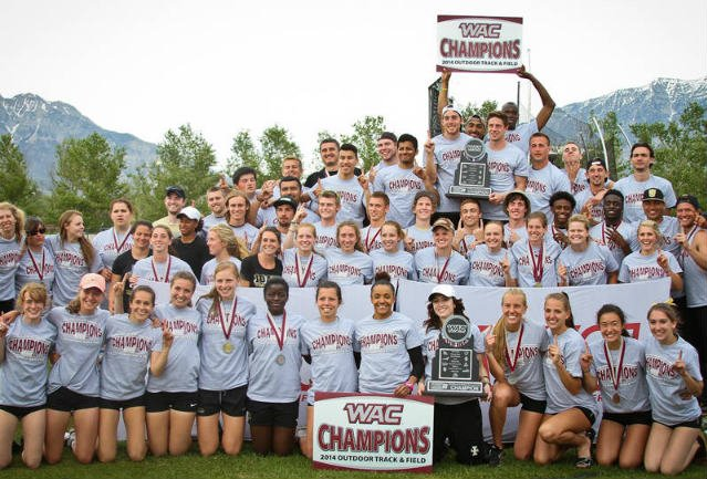 The Vandals Track and Field team left the WAC as champions. (Photo: Linsey Craig)