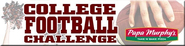 College Football Challenge by Papa Murphy's>