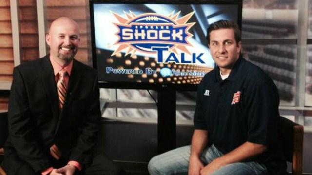 Sam Adams goes in depth with new Spokane Shock QB Brian Zbydniewski on Shock Talk.