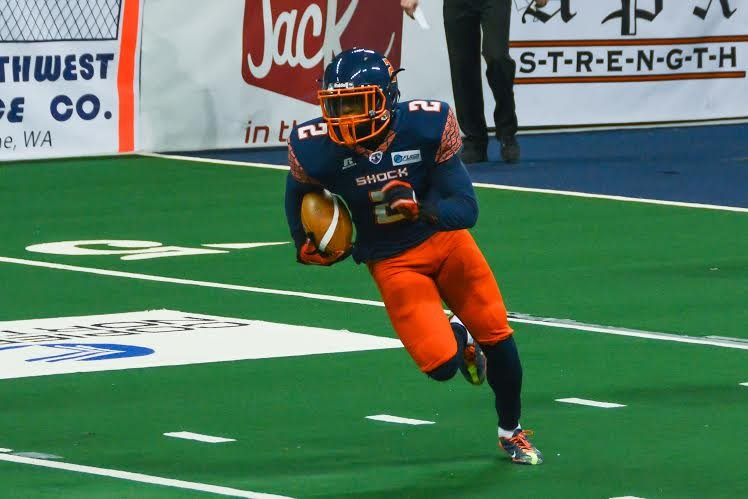Brandon Thompkins will complete the Shock's previous trade with the Philadelphia Soul.