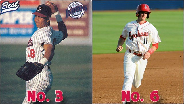 Will the consummate pro or the local college hero win the No. 3 vs. No. 6 matchup? (Photo: Spokane Indians)