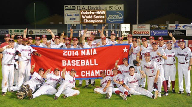 Cumberland (Tenn.) had enough in the tanks to defeat Lewis-Clark State 3-0 in the NAIA World Series Championship on Friday night. (Photo Courtesy: Referee Photo)